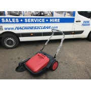 M2c480 Sweeper Pedestrian Warehouse Yard Cleaner