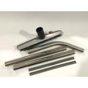 """Vacuum floor brush kit stainless/commercial 38mm x 15"""" / 381mm"""