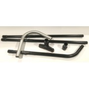 Vacuum wand reach system lightweight/aluminium 38mm x 3.5-5M